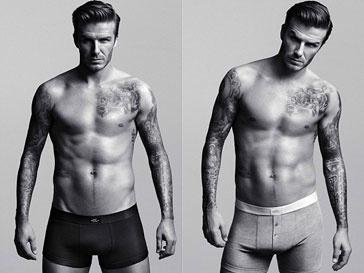 Дэвид Бекхэм, мода, нижнее белье, реклама, H&M