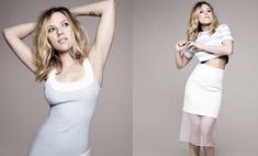 Похудевшая Скарлетт Йоханссон появилась на обложке Elle