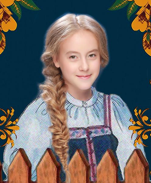 Екатерина Шимова, «Уральская краса – русская коса», фото