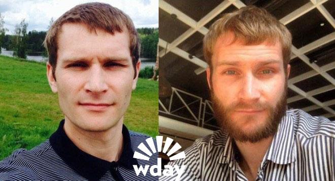 Николай Наумов с бородой