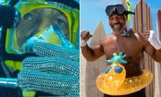Майк Тайсон голыми руками поймал и обездвижил акулу (видео)