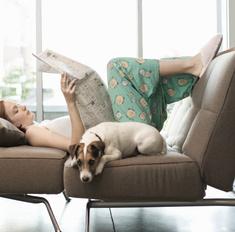 8 упражнений для ленивых, которые можно делать на диване