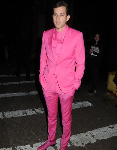Марк Ронсон (Mark Ronson) на презентации коллекции Versace для H&M в Нью-Йорке