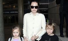 Милота дня: Джоли показала подросших детей