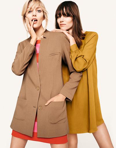 Кадры из рекламной кампании H&M сезона осень-зима 2011 - 2012