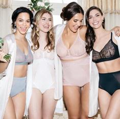 Модный бренд выпустил утягивающее белье для свадьбы