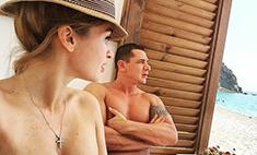 Муж увез Бородину в отпуск, чтобы укрепить отношения