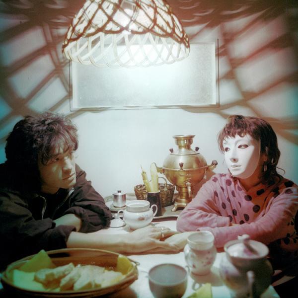 1985 год. Виктор Цой в роли Моро и Марина Смирнова в роли Дины. Фильм «Игла».