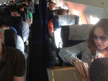 Лера Кудрявцева была недовольна самолетом, который предоставили артистам