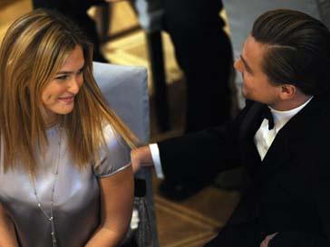 Леонардо Ди Каприо (Leonardo DiCaprio) и Бар Рафаэли (Bar Rafaeli)