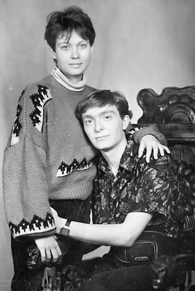 Глушенковы в начале 90-х – в семье их пока только двое.