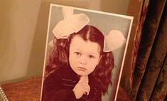 Милла Йовович показала детское фото