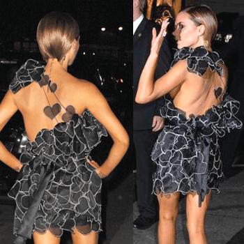 Платье от Marc Jacobs (вид сзади и сбоку)