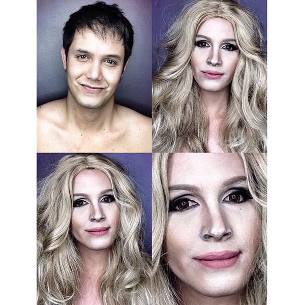Филиппинский визажист перевоплотился в звезд с помощью макияжа   галерея [1] фото [4]