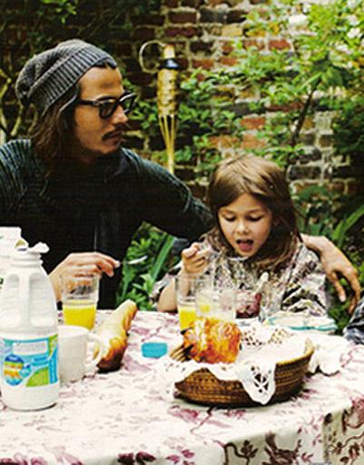 Джонни Депп с дочкой Лили-Роуз
