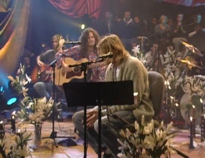 Концерт Курта Кобейна