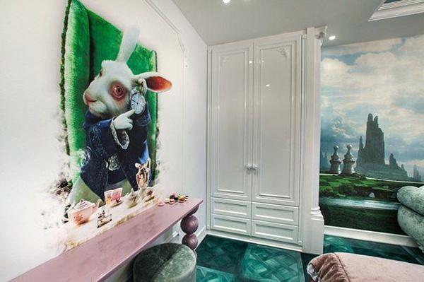 Необычный дизайн детской комнаты