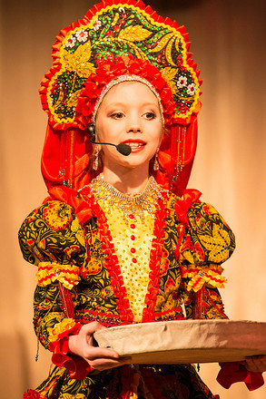 Анастасия Попова, участница конкурса «Маленькая мисс Екатеринбург 2017», фото