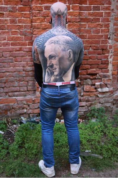 Самые необычные татуировки тату-феста в Казани