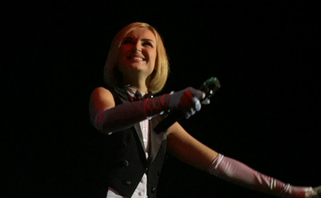 Омск, Полина Гагарина, концерт
