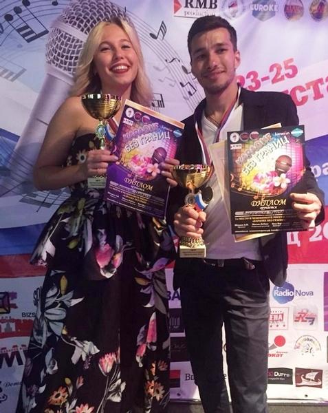 Анастасия Румянцева и Владимир Кадочников - чемпионы России по караоке
