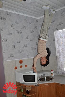 Волгоград, дом наоборот