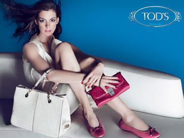 Энн Хэтэтуэй (Anne Hathaway) во второй раз стала лицом рекламной кампании Tod's