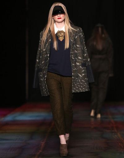 Показ коллекции MASHA KRAVTSOVA осень-зима 2013/14 на Mercedes-Benz Fashion Week Russia