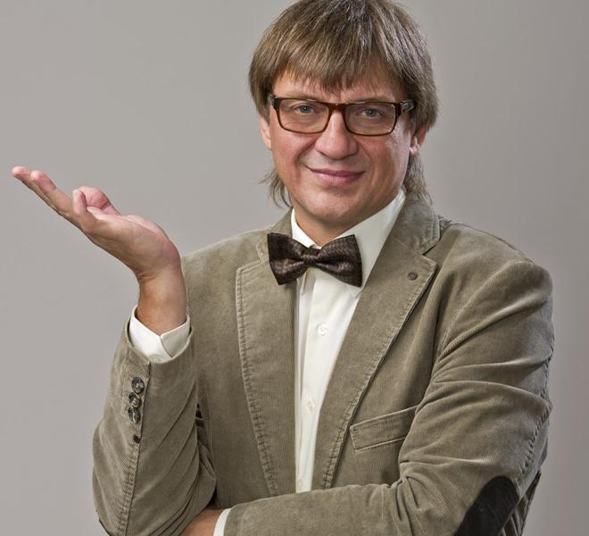 Рязанский шоумен Игорь Крысанов сегодня отмечает юбилей