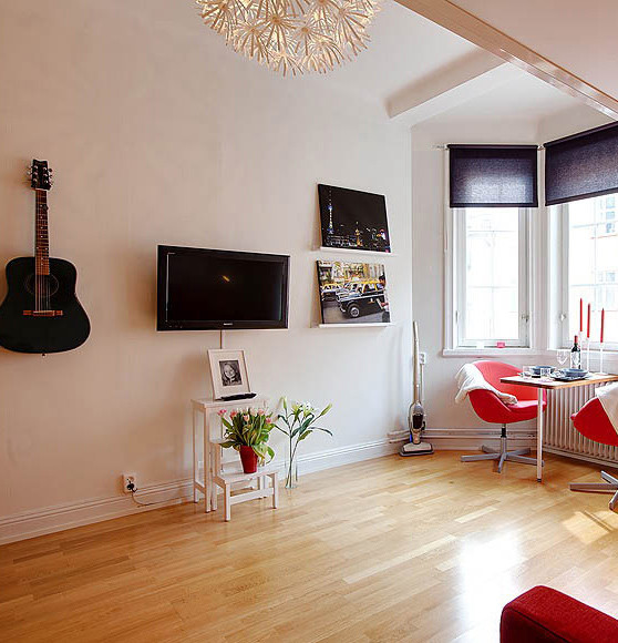 Дизайн маленькой студии 21 кв.м фото