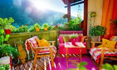 Терраса – уютное место для отдыха. Оригинальные идеи дизайна