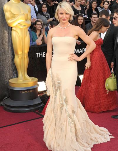 """Кэмерон Диас (Cameron Diaz) на """"Оскаре-2012"""""""