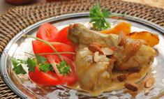 Цыпленок в миндальном соусе