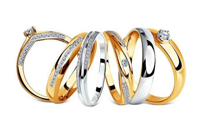 Обручальное кольцо: магазины Изумруд