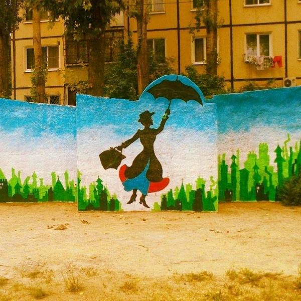 волгоград, стрит-арт, граффити, уличное искусство, художники