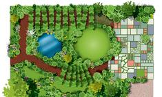 Красивый сад без лишних затрат