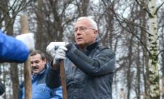 Муж Перминовой копает чернозем в Тульской области