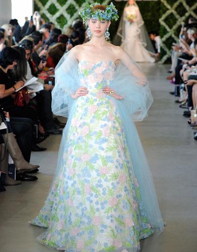 Свадебное платье Oscar de la Renta 2013