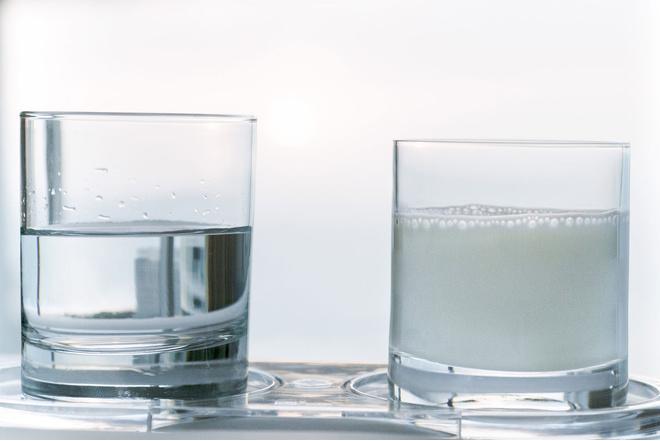молоко с минералкой от кашля