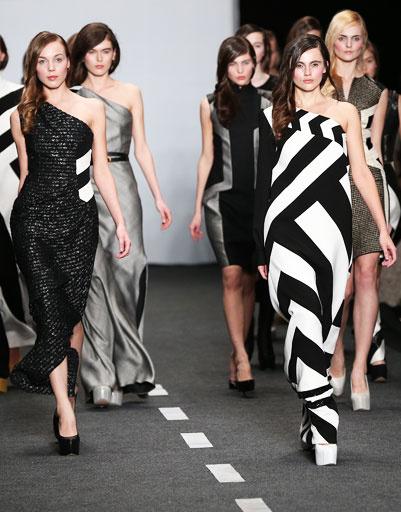 Показ коллекции Dashs Gauser осень-зима 2013/14 на Mercedes-Benz Fashion Week Russia