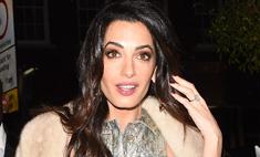 Как одеться на вечеринку: Амаль Клуни в кюлотах