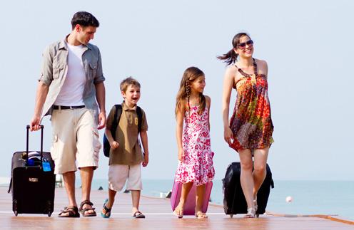 Время летних отпусков