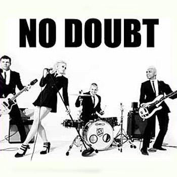 No Doubt (промо-плакат предстоящего тура)