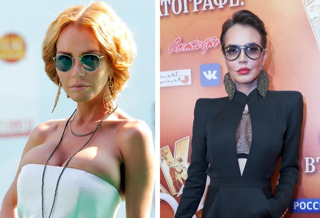 Маша Малиновская до и после пластики