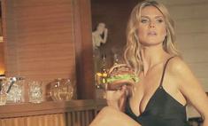 Хайди Клум снялась в рекламе фастфуда