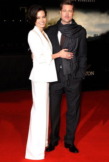 Джоли и Питт на берлинской премьере «Загадочной истории Бенджамина Баттона»