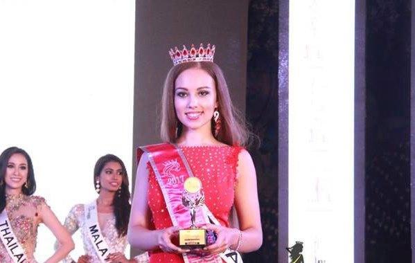 Кристина Вуккерт заняла второе место на конкурсе «Самое красивое лицо мира»