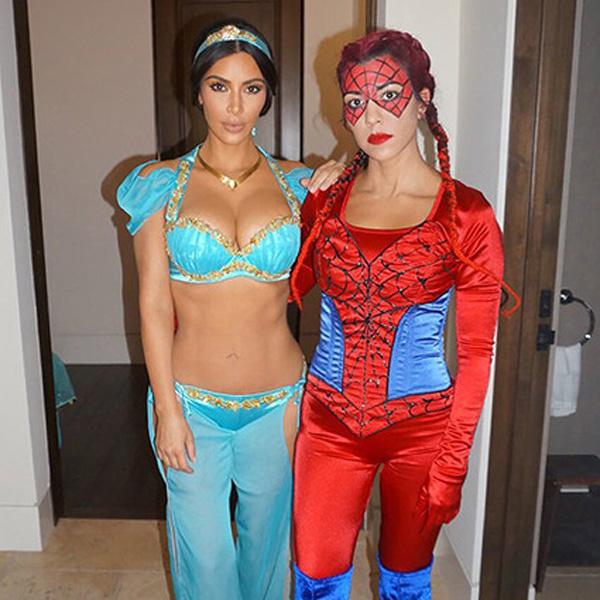 Ким Кардашьян с сестрой Кортни