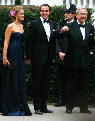 Греческие принцесса Татьяна и принц Николаос