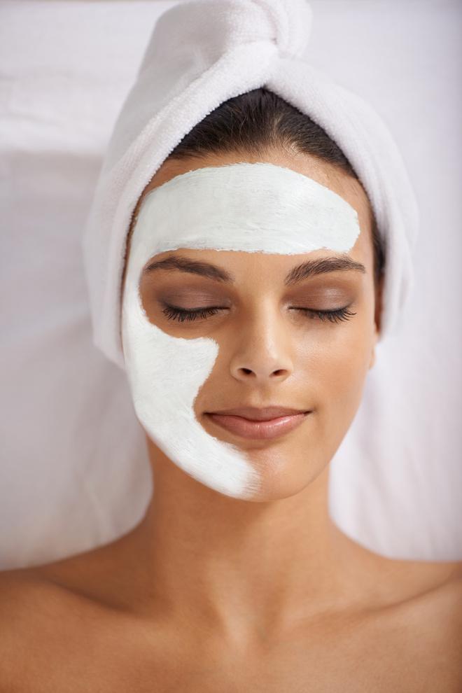 маска от покраснений на лице